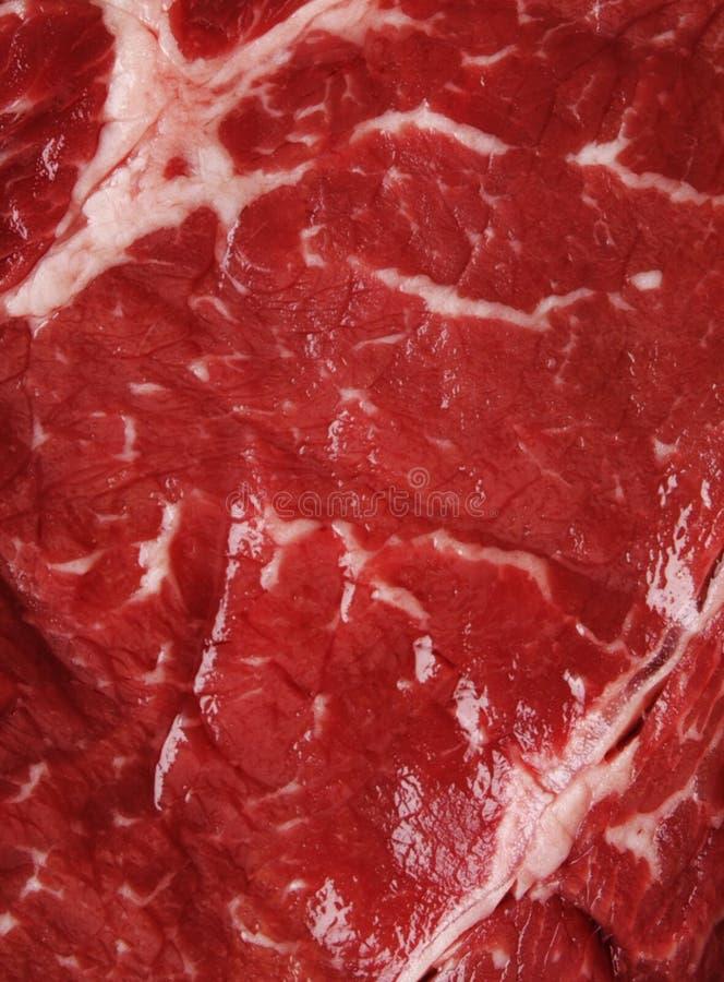Vista del fondo di struttura della carne fotografia stock