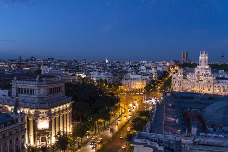 Vista Del Horizonte Madrid España Foto De Archivo Imagen