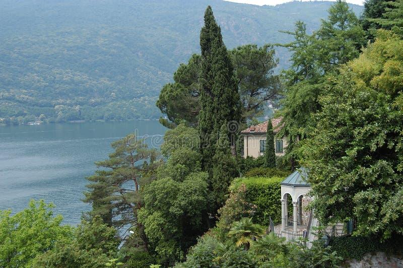 Vista del lago fotografie stock libere da diritti