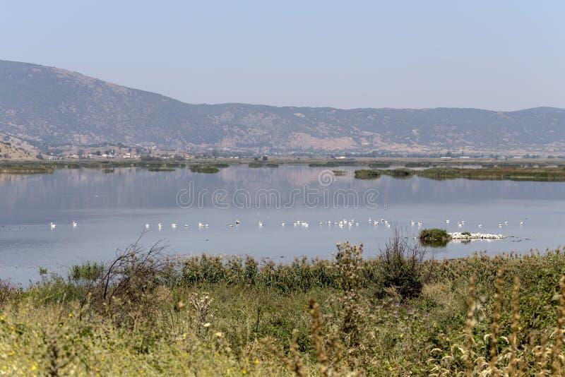 Vista del lago Hemaditida fotos de archivo