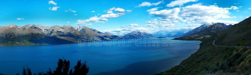 Paisaje de Nueva Zelanda foto de archivo libre de regalías