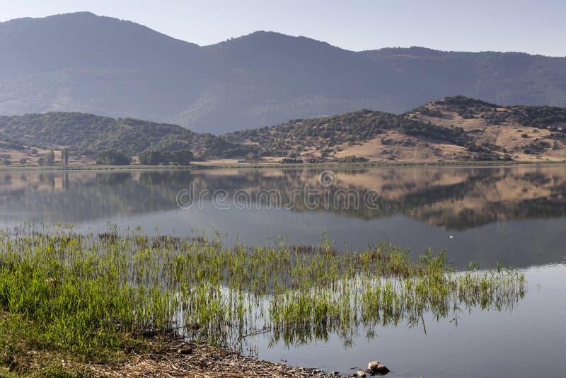 Vista del lago Zazari imágenes de archivo libres de regalías