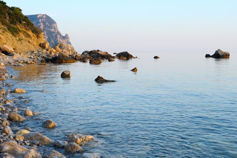 Vista del litorale immagine stock libera da diritti