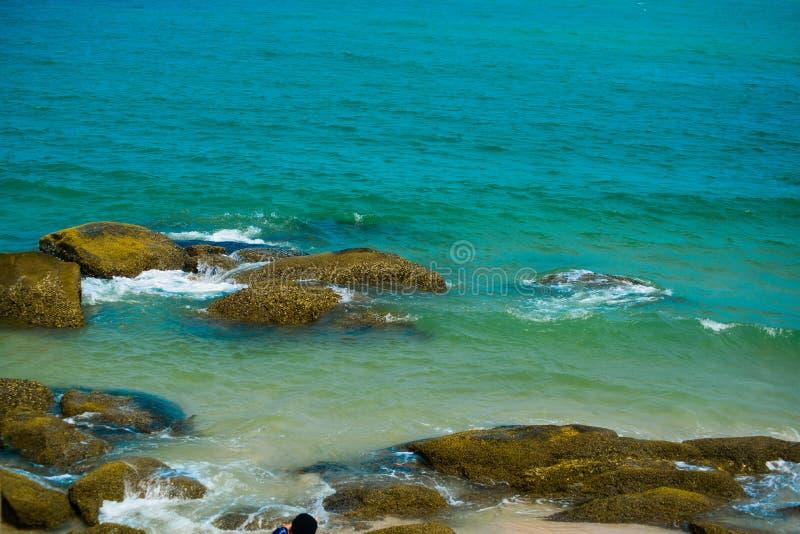 Vista del mar tailandia imagenes de archivo