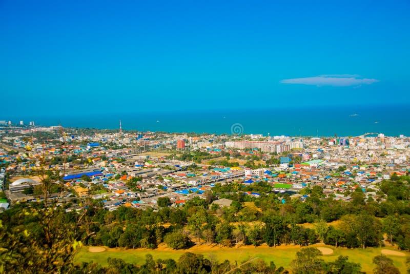 Vista del mar tailandia Hua Hin foto de archivo libre de regalías