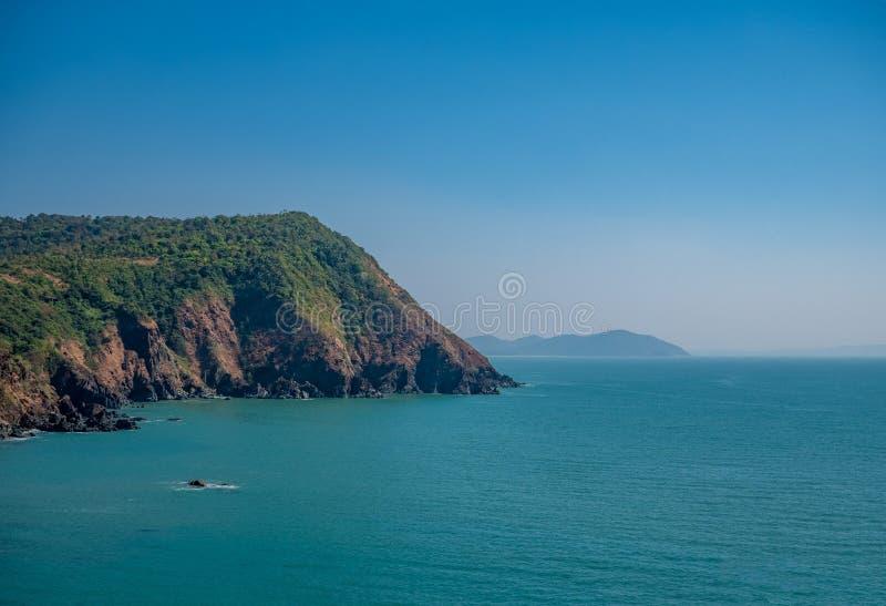 Vista del mare dalla fortificazione di Cabo de Rama fotografia stock libera da diritti