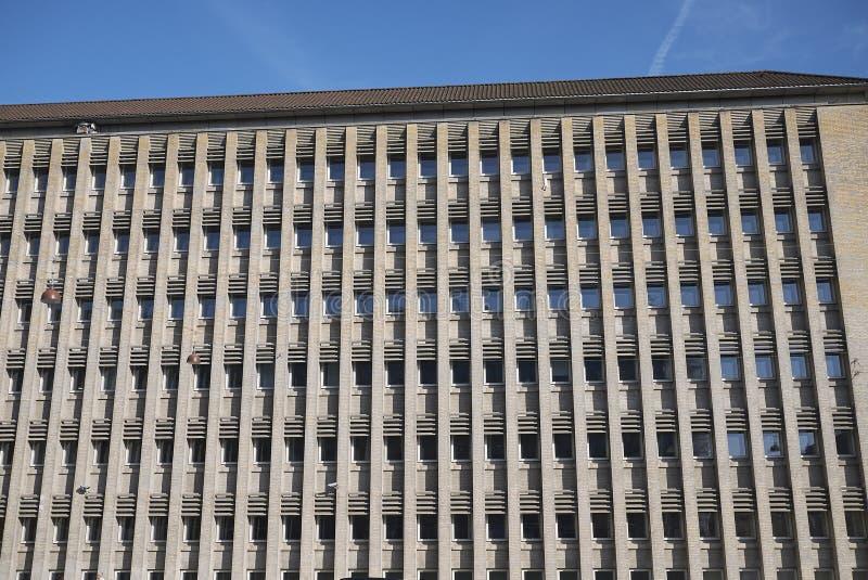 Vista del Ministero della costruzione di affare straniero fotografia stock libera da diritti