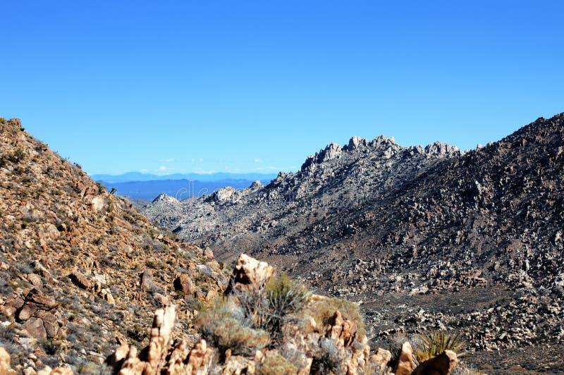 Vista del Mojave fotografía de archivo libre de regalías