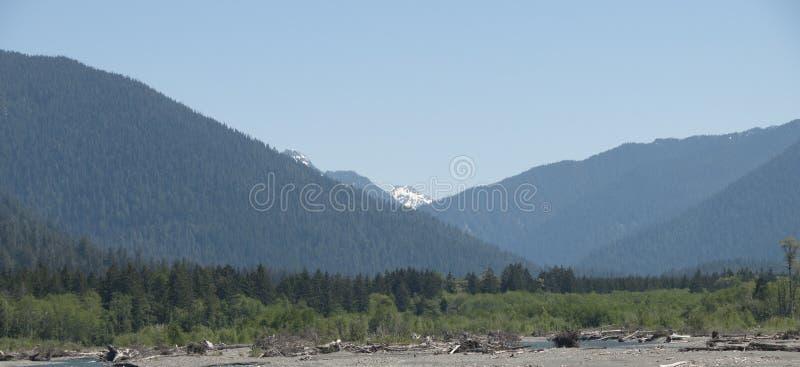 Vista del monte Olimpo imágenes de archivo libres de regalías