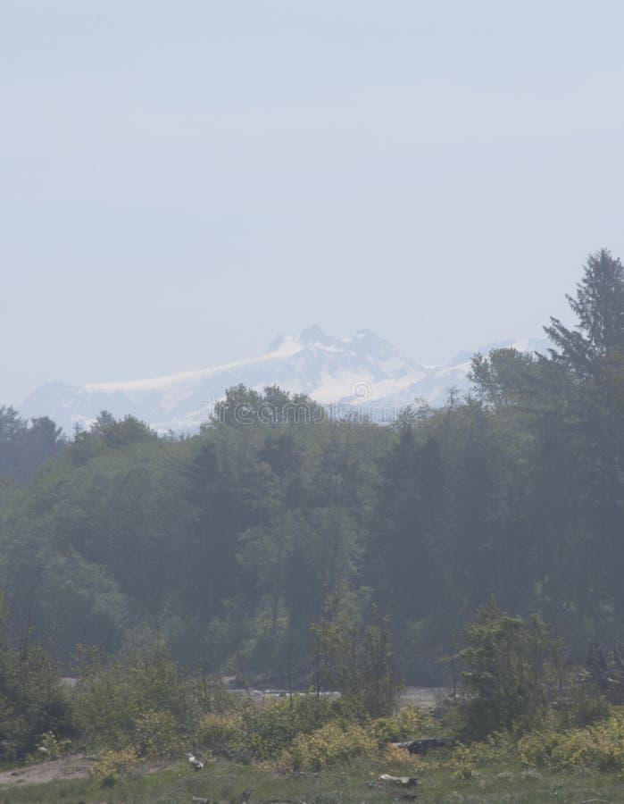 Vista del monte Olimpo fotos de archivo libres de regalías