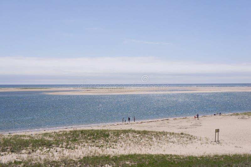 Vista del Océano Atlántico, Cape Cod fotos de archivo libres de regalías