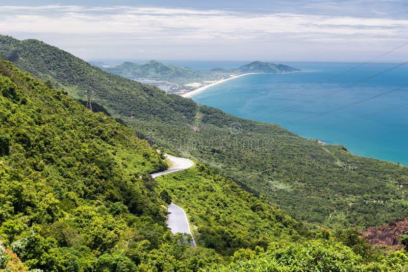 Vista del océano en la manera de la tonalidad a Hoi An, Vietnam fotos de archivo libres de regalías