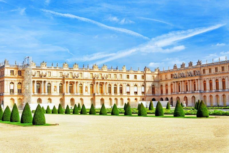 Vista del palacio de Versalles, Versalles. imagen de archivo