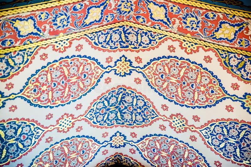 Vista del palazzo di Topkapi a Costantinopoli, Turchia fotografie stock