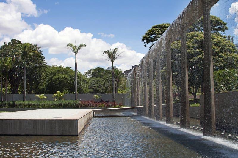 Vista del parco orientale, Caracas immagine stock libera da diritti