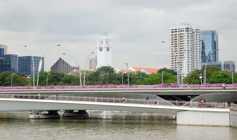 Vista del parque del tha en Singapur foto de archivo