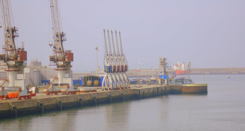 Vista del porto fotografia stock libera da diritti