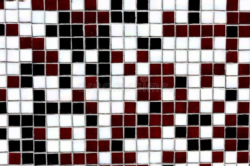 vista del primo piano di decorativo nero, bianco e marrone rossiccio immagini stock