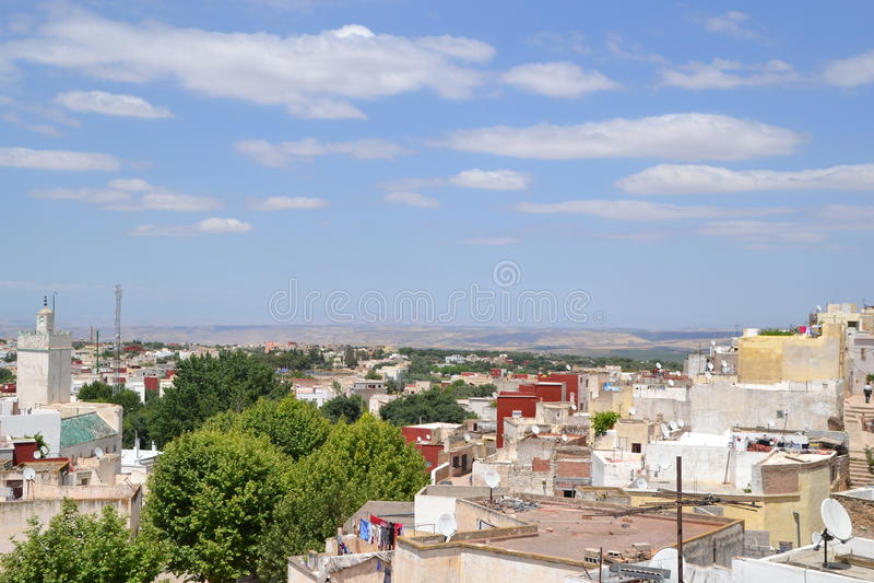 Vista del pueblo del Berber imágenes de archivo libres de regalías