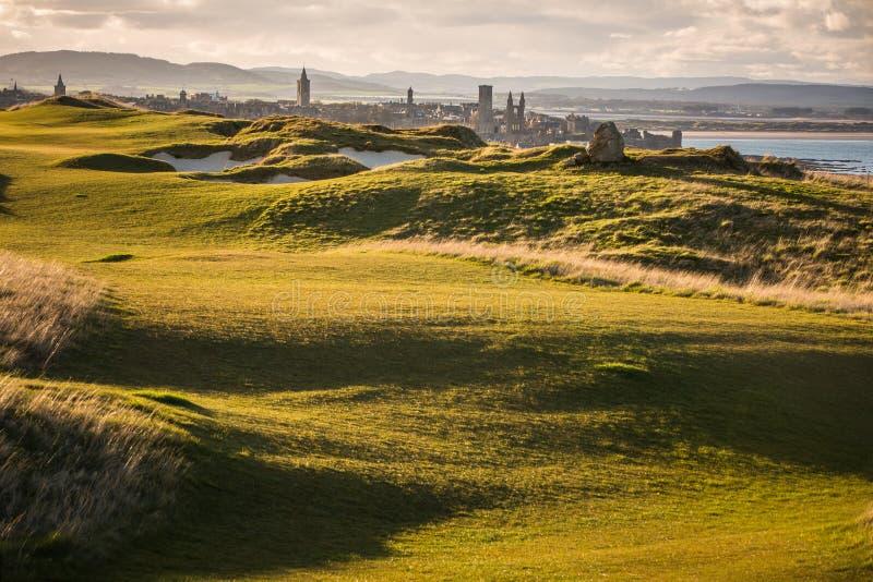 Vista del Saint Andrews fotografia stock