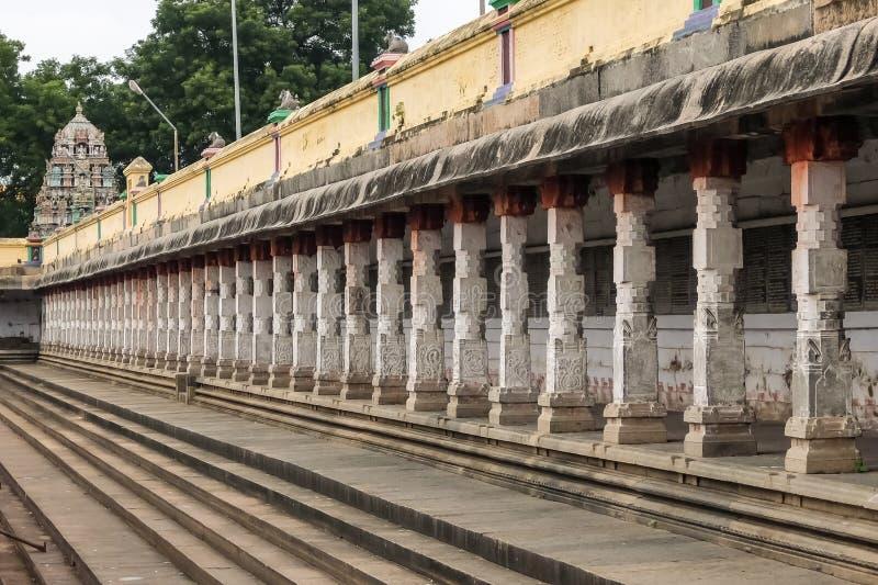 Vista del tempio di Nataraja, Chidambaram, India immagine stock