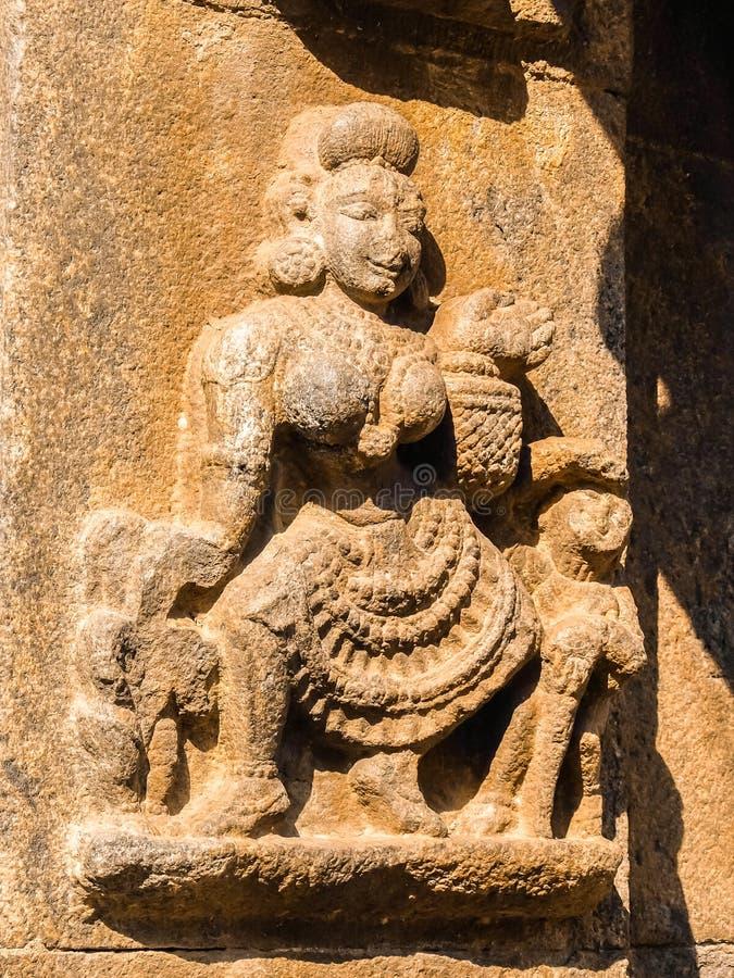 Vista del tempio di Sri Jalakandeswarar in Vellore fotografie stock
