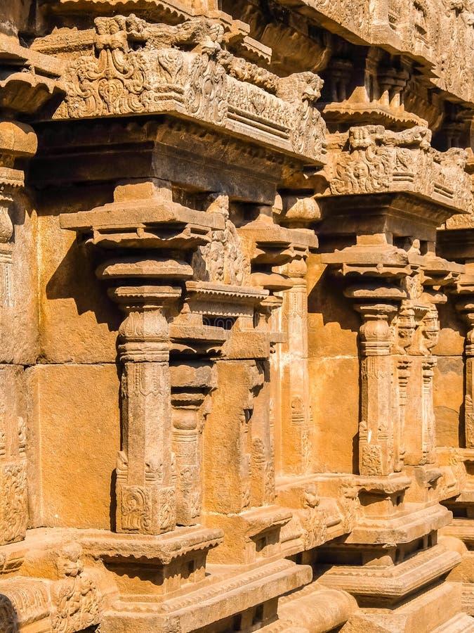 Vista del templo de Sri Jalakandeswarar en Vellore imagenes de archivo