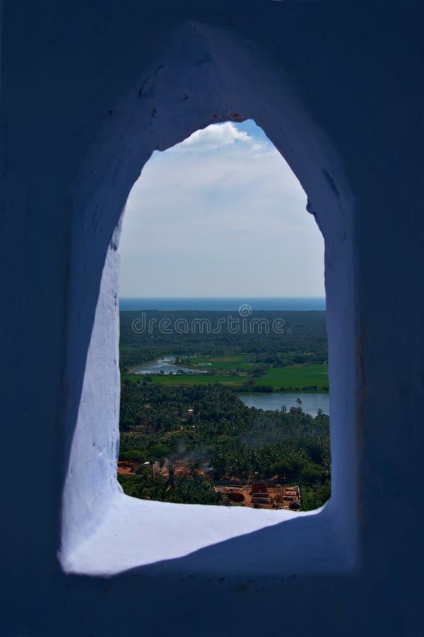 Vista del valle de la ventana vieja fotografía de archivo