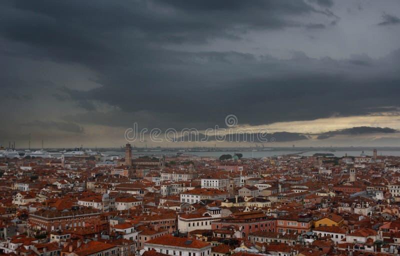 Vista del venece fotografía de archivo
