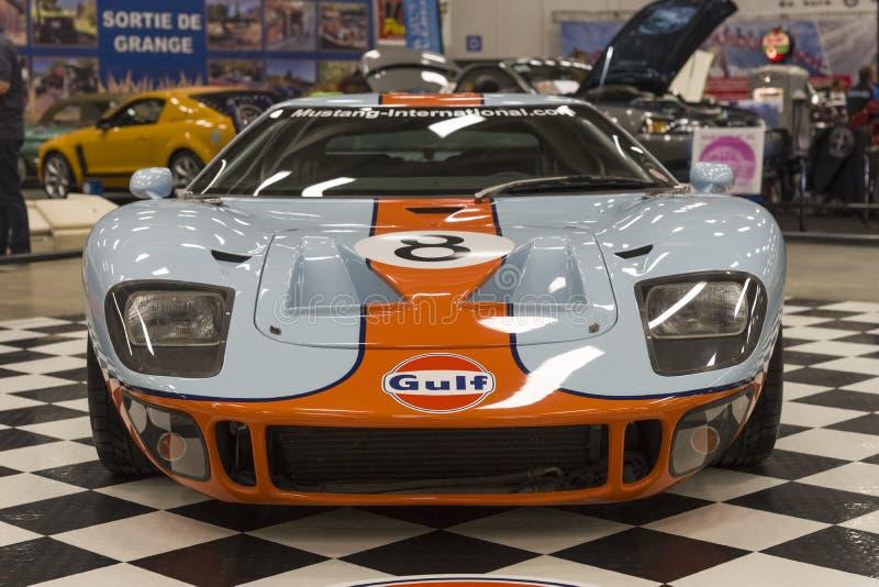 Vista delantera de Ford gt40 imagen de archivo libre de regalías