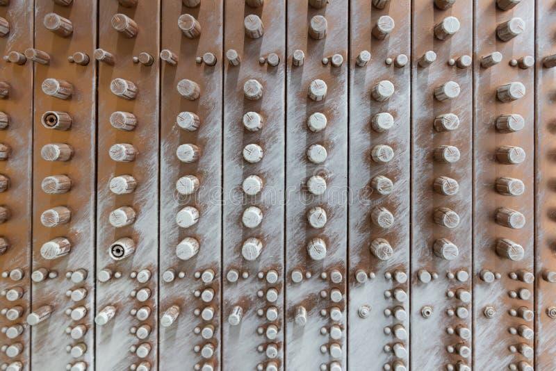 Vista delantera del equalizador de bronce artificial de los sonidos de la aver?a fotos de archivo libres de regalías