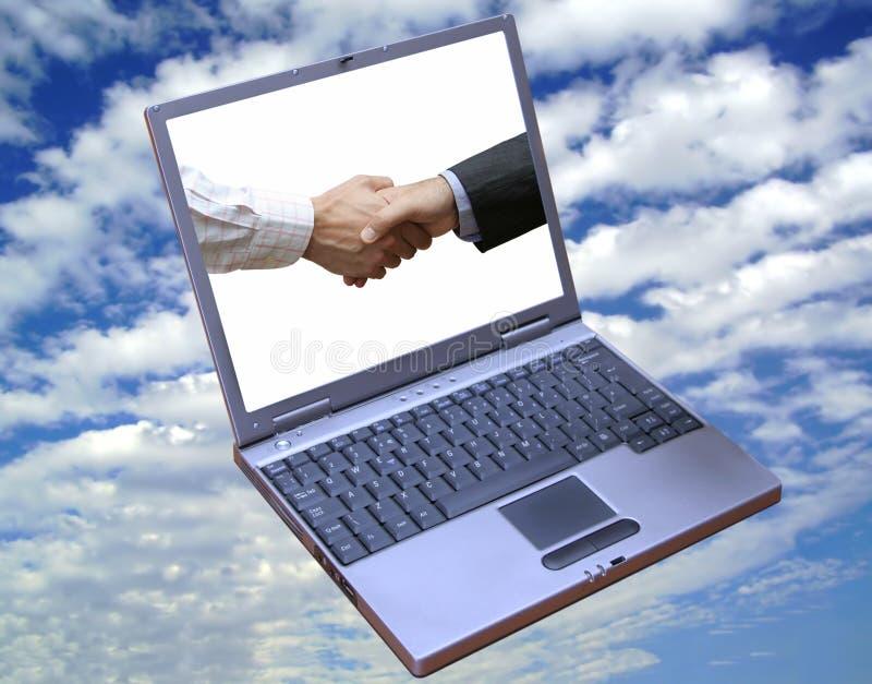 Vista dell'affare globale!! immagini stock libere da diritti