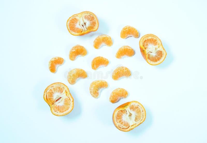 Vista dell'angolo alto della vista superiore del limone immagini stock libere da diritti