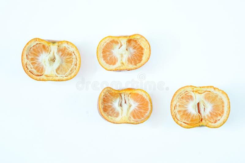 Vista dell'angolo alto della vista superiore del limone fotografie stock