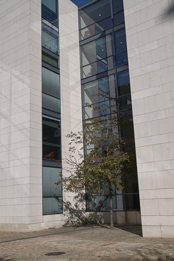 Vista dell'edificio di Nordea fotografia stock libera da diritti