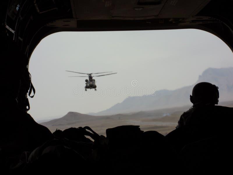 Vista dell'elicottero immagini stock libere da diritti