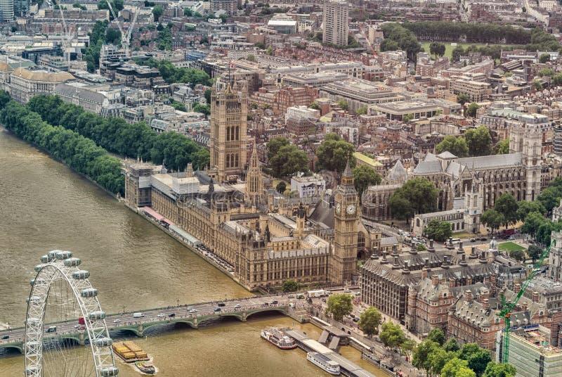 Download Vista Dell'elicottero Delle Camere Di Area Di Westminster E Del Parlamento, Lo Fotografia Editoriale - Immagine di città, aereo: 56885961