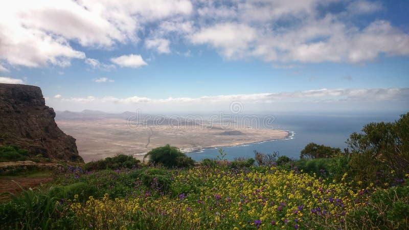 Vista dell'isola fotografia stock