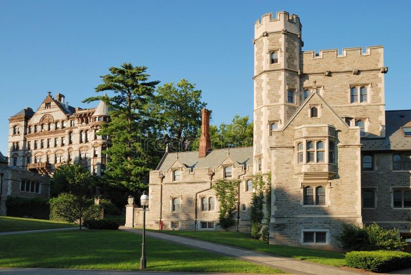 Vista dell'Università di Princeton fotografie stock libere da diritti