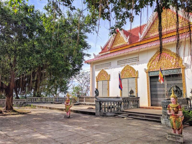 Vista della campagna di Sihanoukville, Cambogia fotografia stock