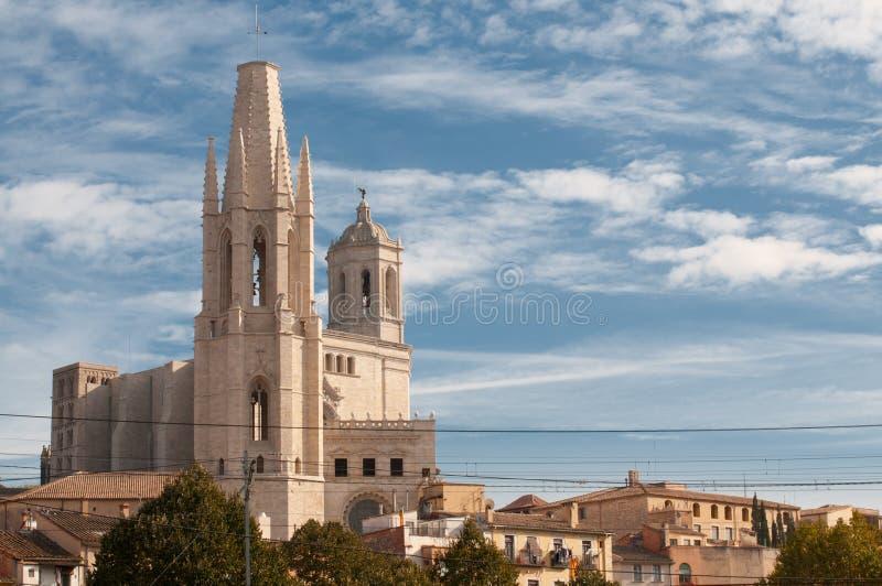 Vista della cattedrale fotografia stock