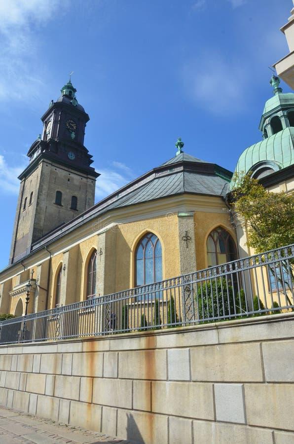 Vista della chiesa fotografia stock