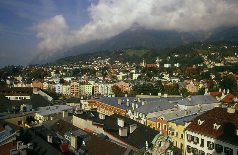 Download Vista Della Città Di Innsbruck Fotografia Stock - Immagine di straniero, città: 7324474
