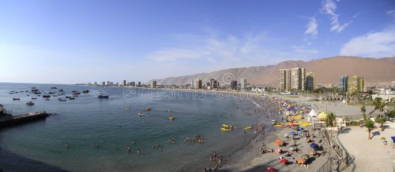 Vista della città di Iquique, Cile immagine stock libera da diritti