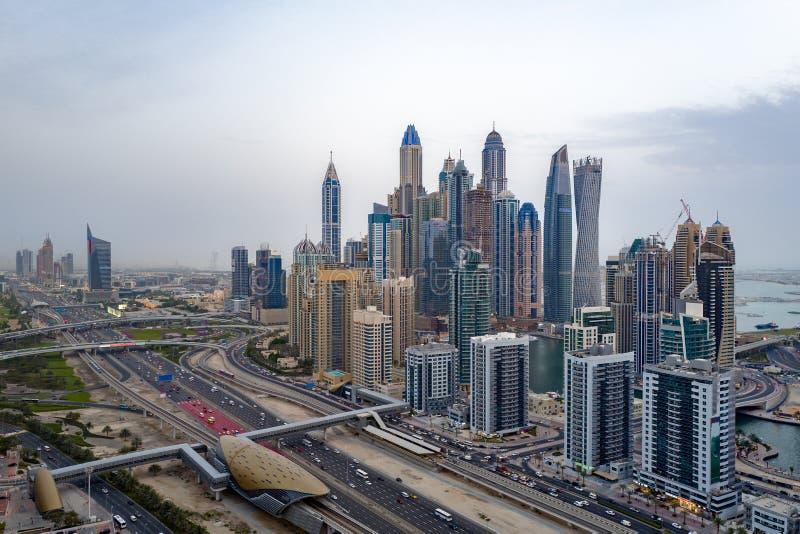 Vista della città di mattina immagine stock libera da diritti