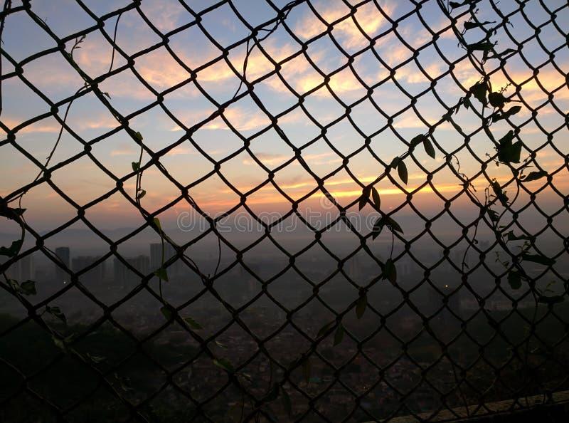 Vista della città di Mumbai immagine stock