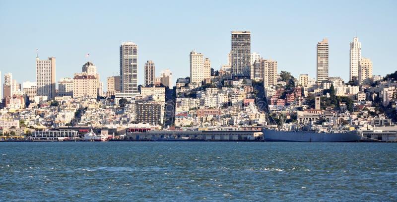 Vista della città di San Francisco immagine stock libera da diritti