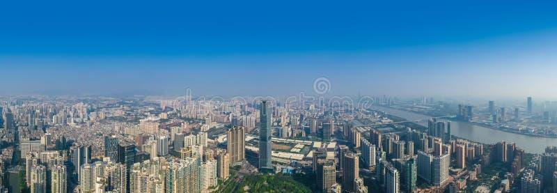 Vista della citt? di Canton in Cina fotografia stock libera da diritti