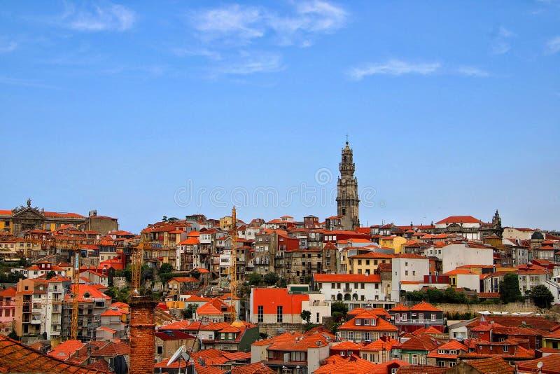 Vista della citt? di Oporto fotografia stock libera da diritti