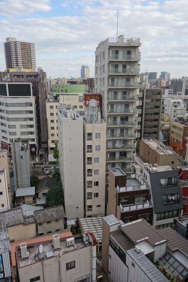 Vista della citt? di Tokyo immagini stock